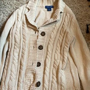 Karen Scott Sweaters - Karen Scott Sweater Cardigan